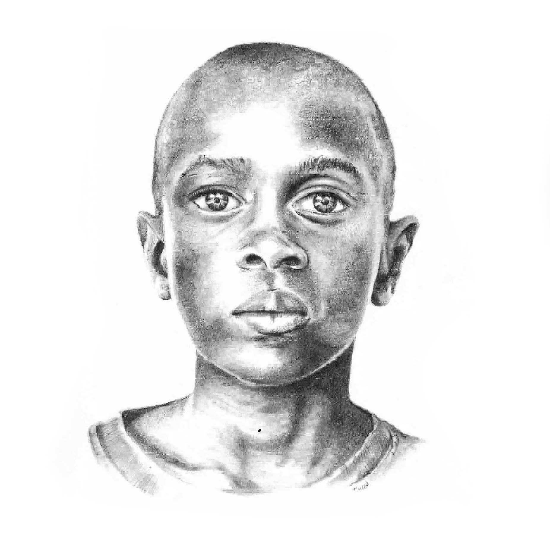 Pencil illustration - Boy's Portrait
