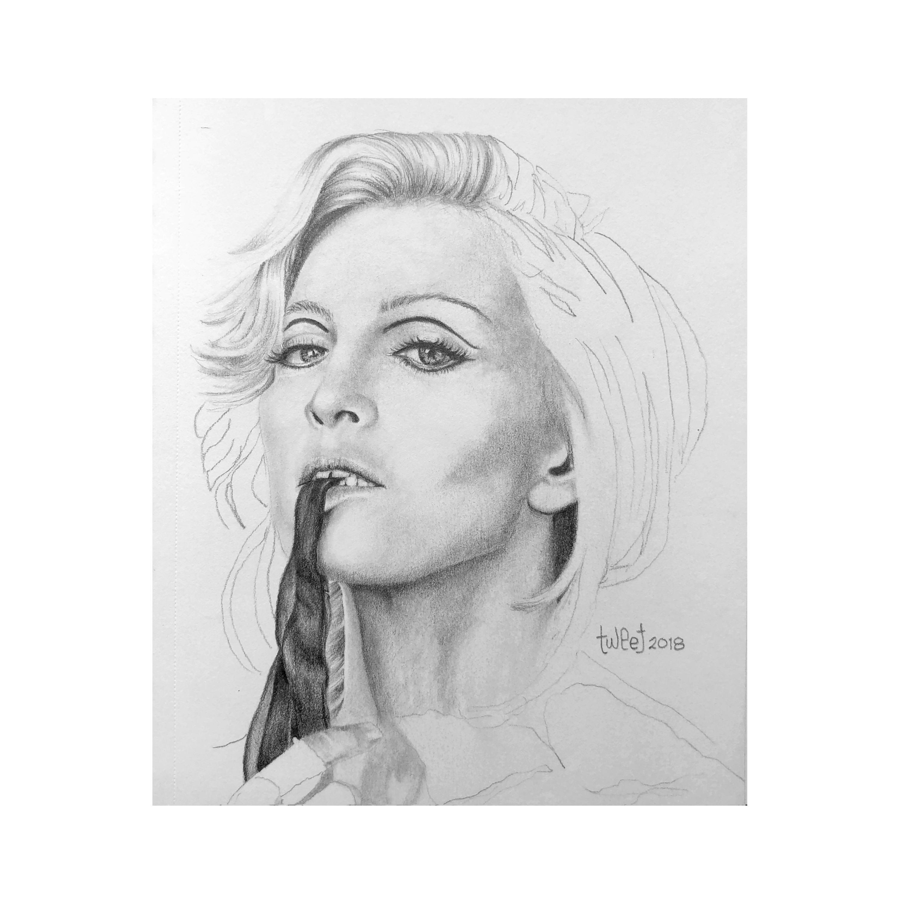 Madonna Queen of Pop - Portrait