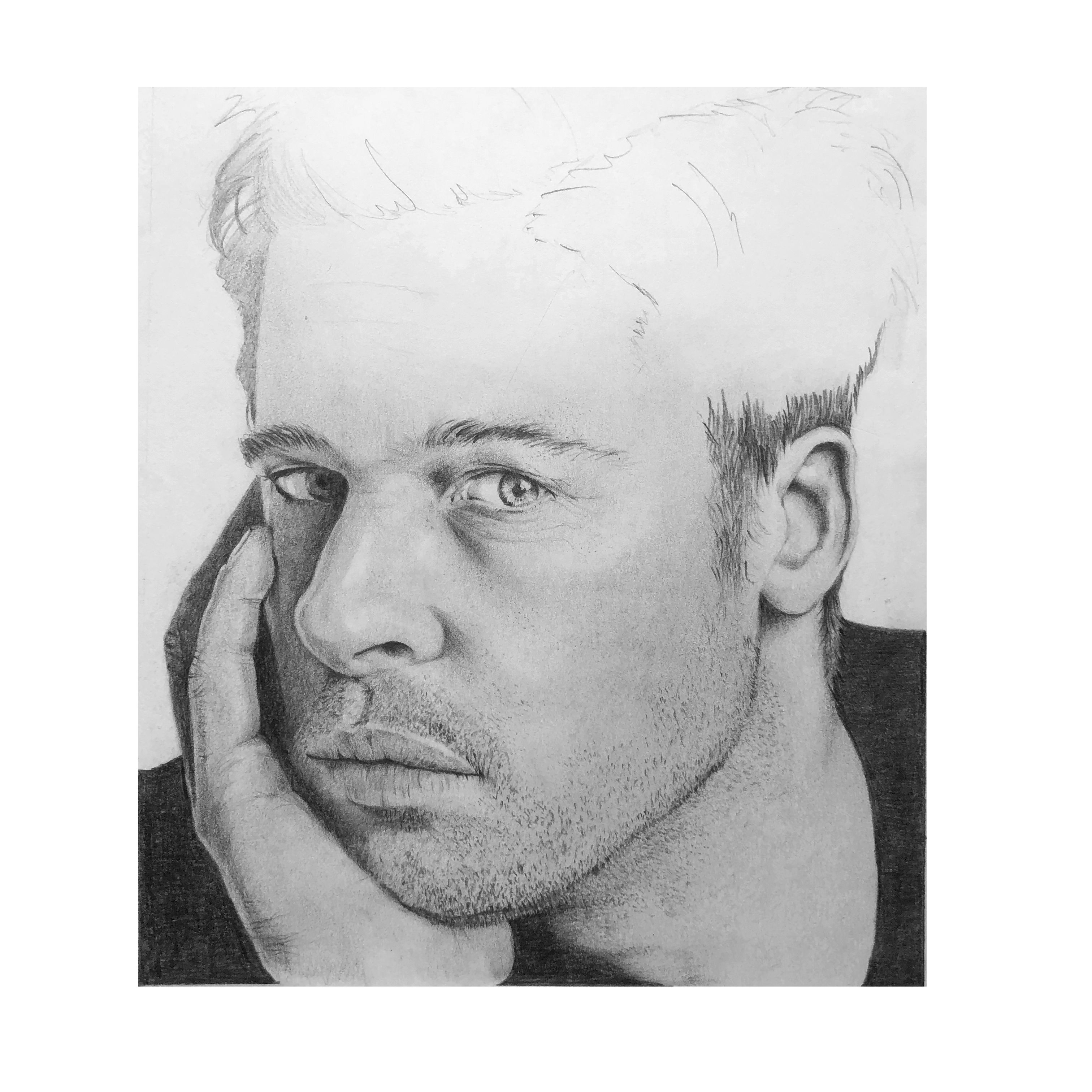 Brad Pitt - Portrait