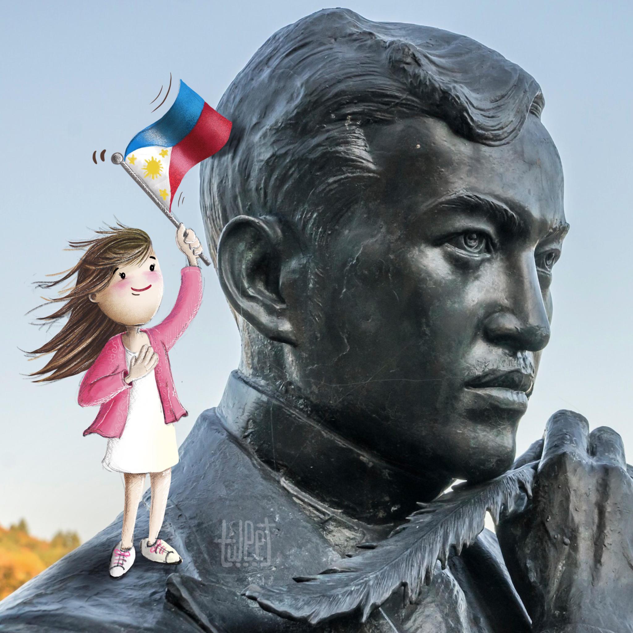 Photo Bombing - Jose Rizal, Heart of a Pinoy