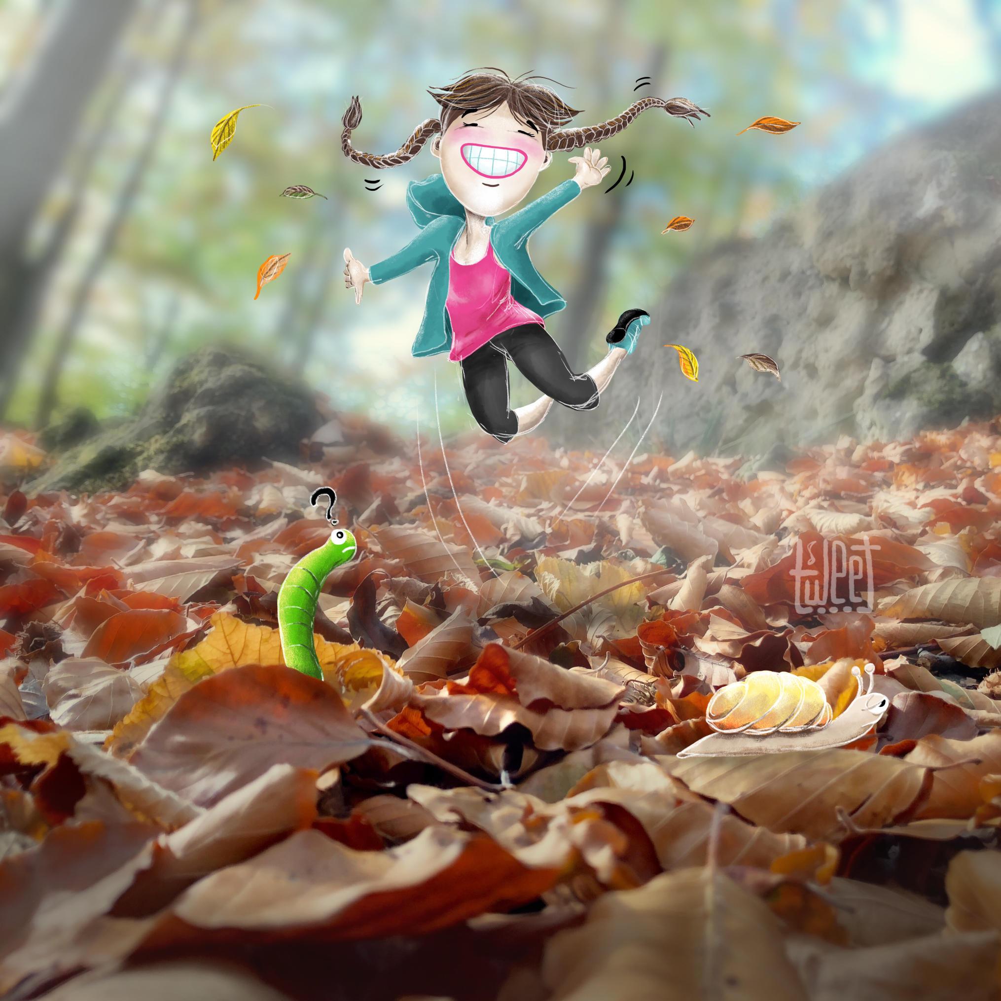 Photo Bombing - Autumn Afternoon